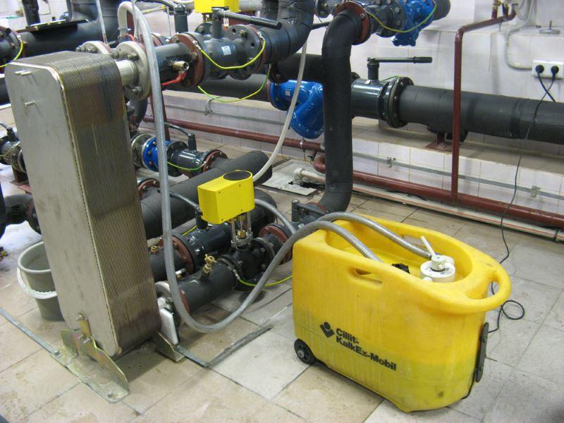 Прибор для очистки теплообменников от накипи в жидых домах теплообменные аппараты борисоглебск цены частный сектор