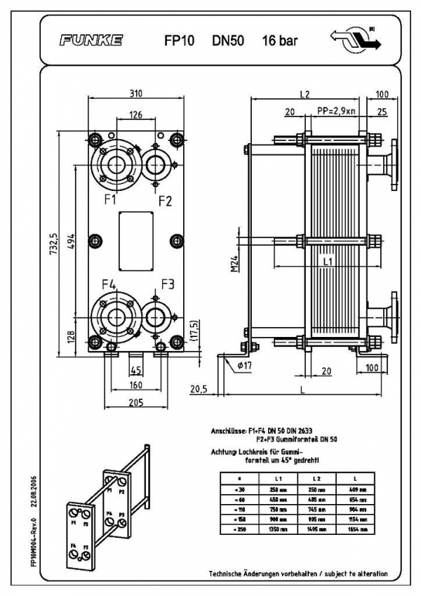 Уплотнения теплообменника Funke FP 81 Киров Аппарат для промывки теплообменников Pump Eliminate 70 combi Камышин