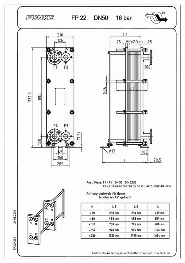Пластинчатый теплообменник ONDA GM010 Минеральные Воды